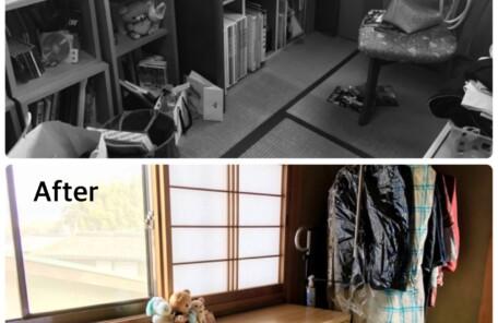 個室 片付け 奈良 整理収納アドバイザー