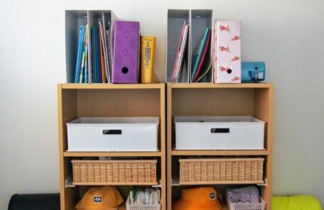 子供部屋 収納 カラーボックス