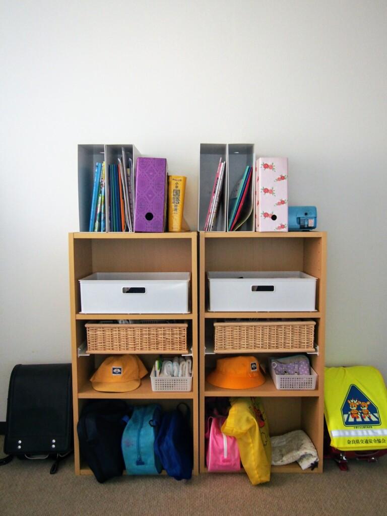 子ども部屋 収納 カラーボックス